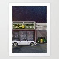 RS Cafesha - NA Roadster Art Print