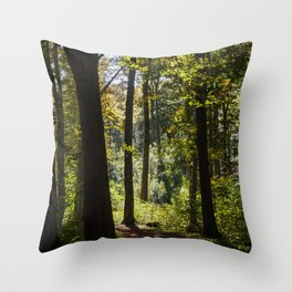 Woodland Mood Throw Pillow