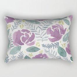 flores violetas Rectangular Pillow