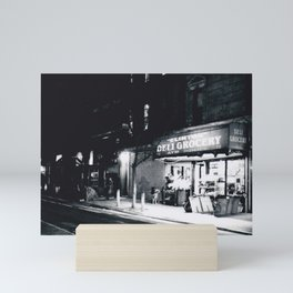 "NYC - ""Clinton"" Deli Grocery, Lower East Side Mini Art Print"