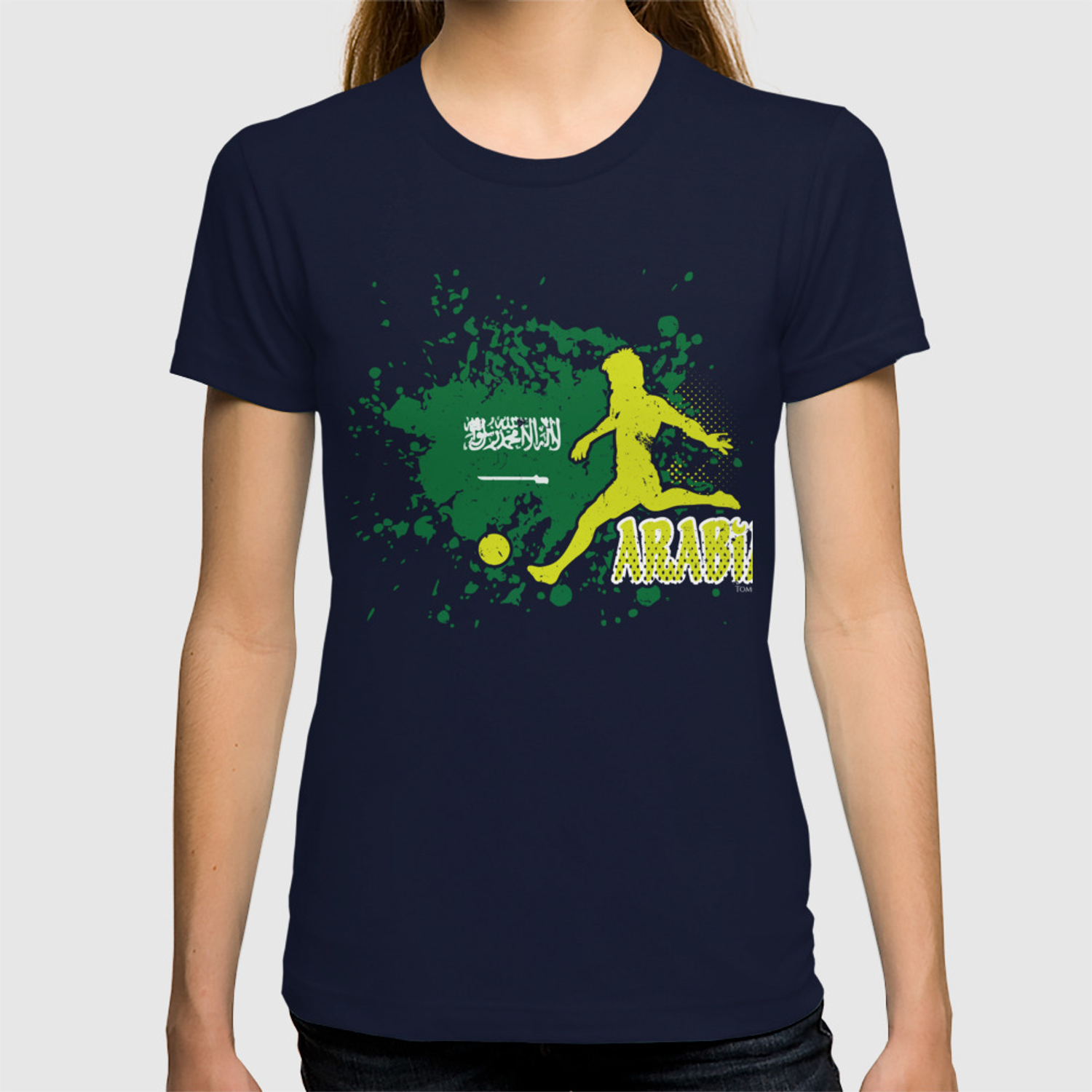 new product d7583 f6506 Football Worldcup Saudi Arabia Saudis Arabians Soccer Team Sports  Footballer Rugby Gift T-shirt