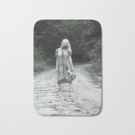 """VAMPLIFIED """"Welcome to Bowden Road"""" Bath Mat"""