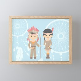 Dreamcatchers Framed Mini Art Print