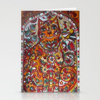 russian Stationery Cards featuring Russian cat  by oxana zaika