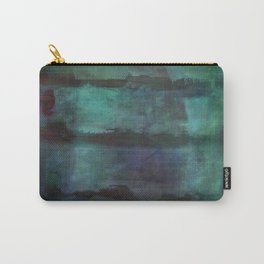 Abstract - Silhouette Carry-All Pouch