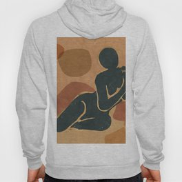 Woman Resting In The Nature 2 Hoody