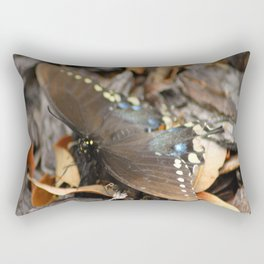 Butterflies Are FREE Rectangular Pillow