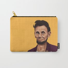 Hipstory -  Abraham Lincoln Carry-All Pouch