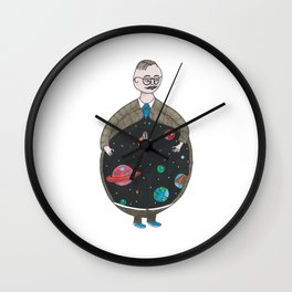 Chrysotome l'Astronome Wall Clock