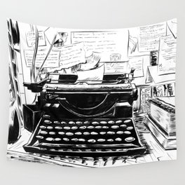 Shakespeare and Company Wall Tapestry