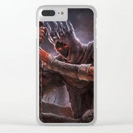 Yhorm The Giant - Dark Souls Clear iPhone Case