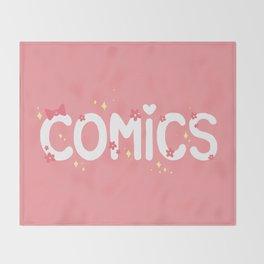 Comics Throw Blanket
