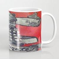 dalek Mugs featuring Dalek by AntiPosi