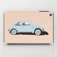 volkswagen iPad Cases featuring Volkswagen Bug  by Gloria van de Glind