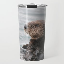 Otterly adorable Travel Mug