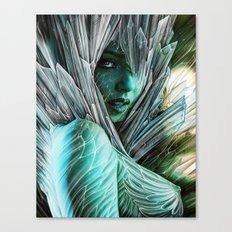 Winter she comes... Canvas Print