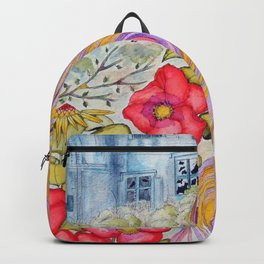 Lady of the blue manor Backpack
