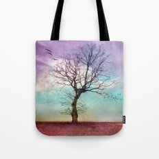 ATMOSPHERIC TREE | Early Morning Tote Bag