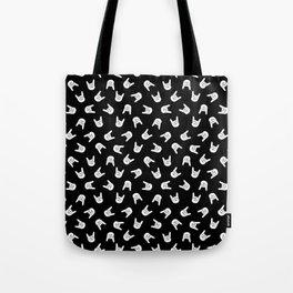 Heavy Metal Pattern | Music Fesitval Rocker Tote Bag