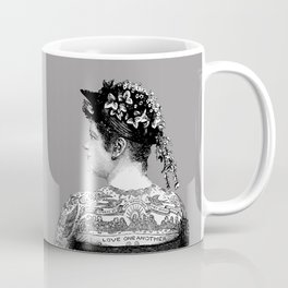 Tattooed Victorian Woman Coffee Mug