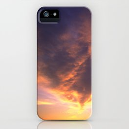 Ominous Cloud: Looking for Rays of Hope iPhone Case