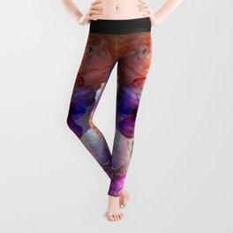 Paint me a garden Leggings