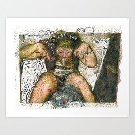 Spiritual Healing Art Print