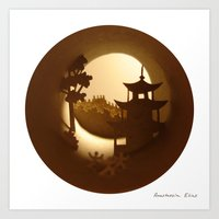 china Art Prints featuring China by Anastassia Elias