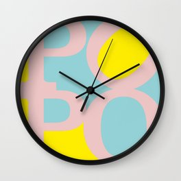 POPO #2 - german 4 BOTTY, sexy bottom Wall Clock
