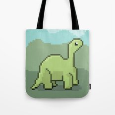 Another Pixel Dino! Tote Bag