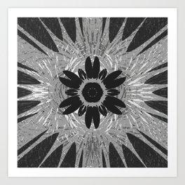 Magnet Flower fields Art Print