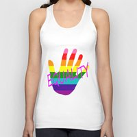 equality Tank Tops featuring Equality by quality products