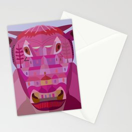 A Cow in Los Angeles Stationery Cards