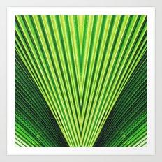 50 Shades of Green (2) Art Print