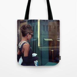Audrey Hepburn #2 @ Breakfast at Tiffany's Tote Bag