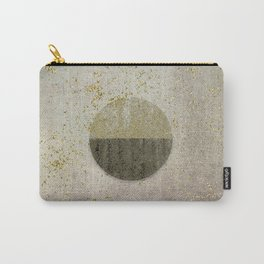 Glamorous Golden Circle Sparkling Elegance Carry-All Pouch