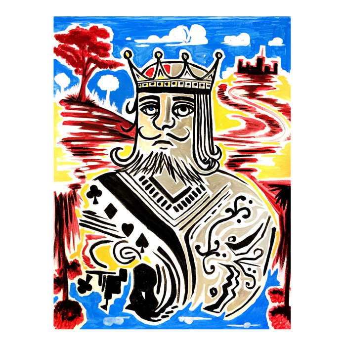 King Of Cards Comforters