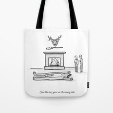 The Wrong Side Tote Bag