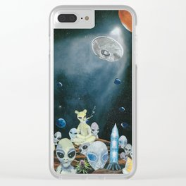 Shades of Greys Clear iPhone Case