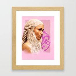 Dany painting Framed Art Print