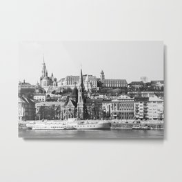 A Nice Day in Budapest Metal Print