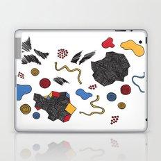 doodle conversation Laptop & iPad Skin