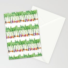Funky Vegetables Stationery Cards