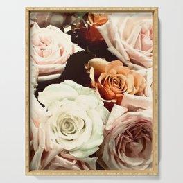 Vintage Rose Serving Tray