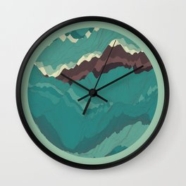 TOPOGRAPHY 004 Wall Clock