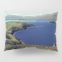 She felt tiny in Lake Tekapo Pillow Sham