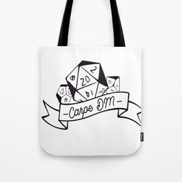Carpe DM Tote Bag
