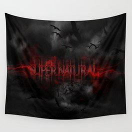 Supernatural darkness Wall Tapestry