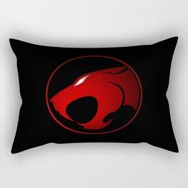 ThunderCats Symbol Red and Black Rectangular Pillow
