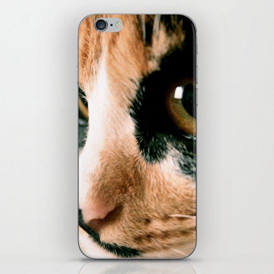 Thinking Cat iPhone & iPod Skin